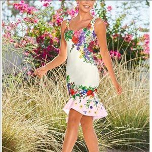 Venus Floral Dress M Like new